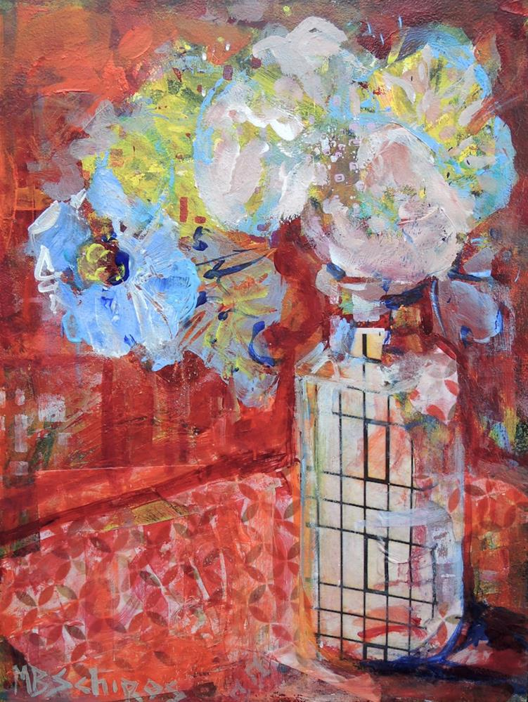 """Window Glass"" original fine art by Mary Schiros"