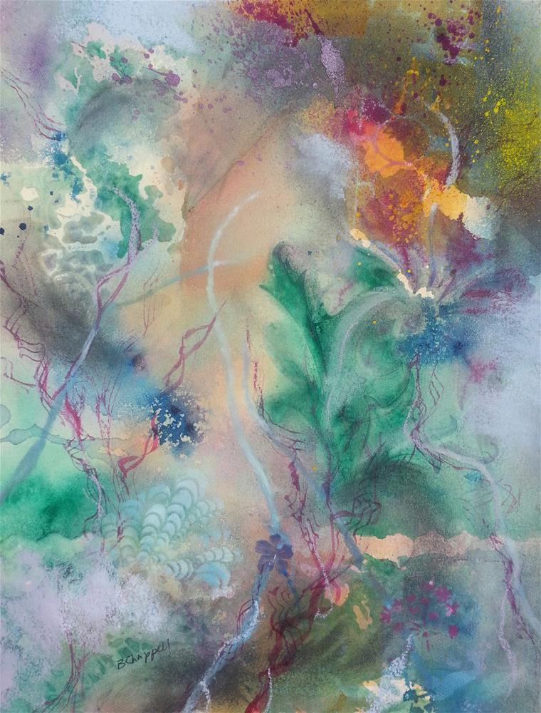 """""""Sea Grass"""" original fine art by Becky Chappell"""