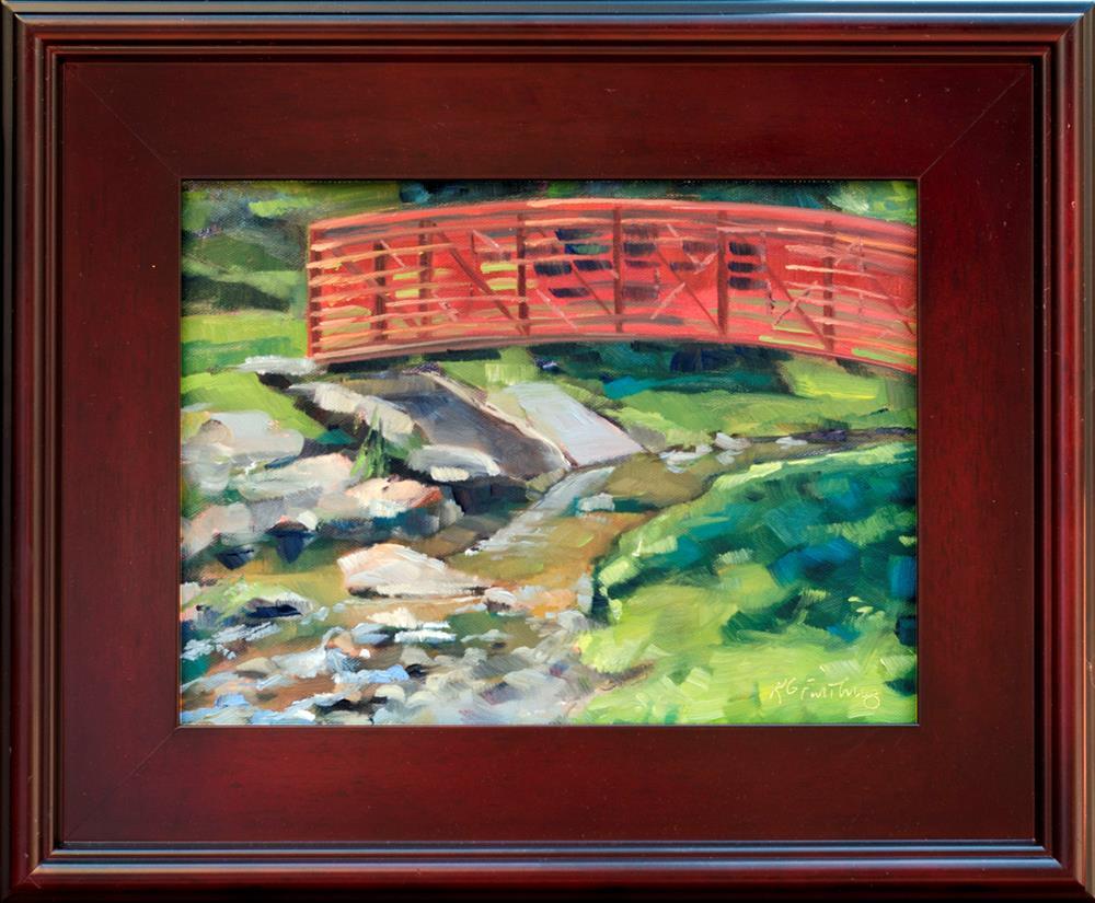 """Ashland Creek"" original fine art by Kathleen Gray Farthing"