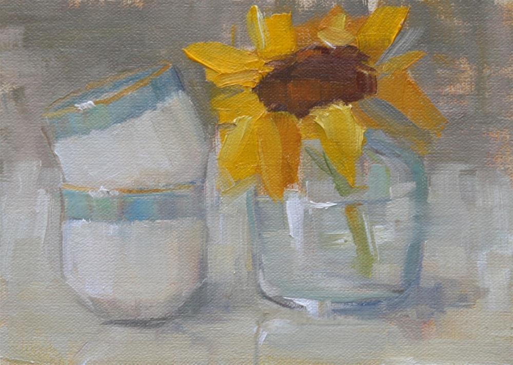 """a little sunshine"" original fine art by Carol Carmichael"