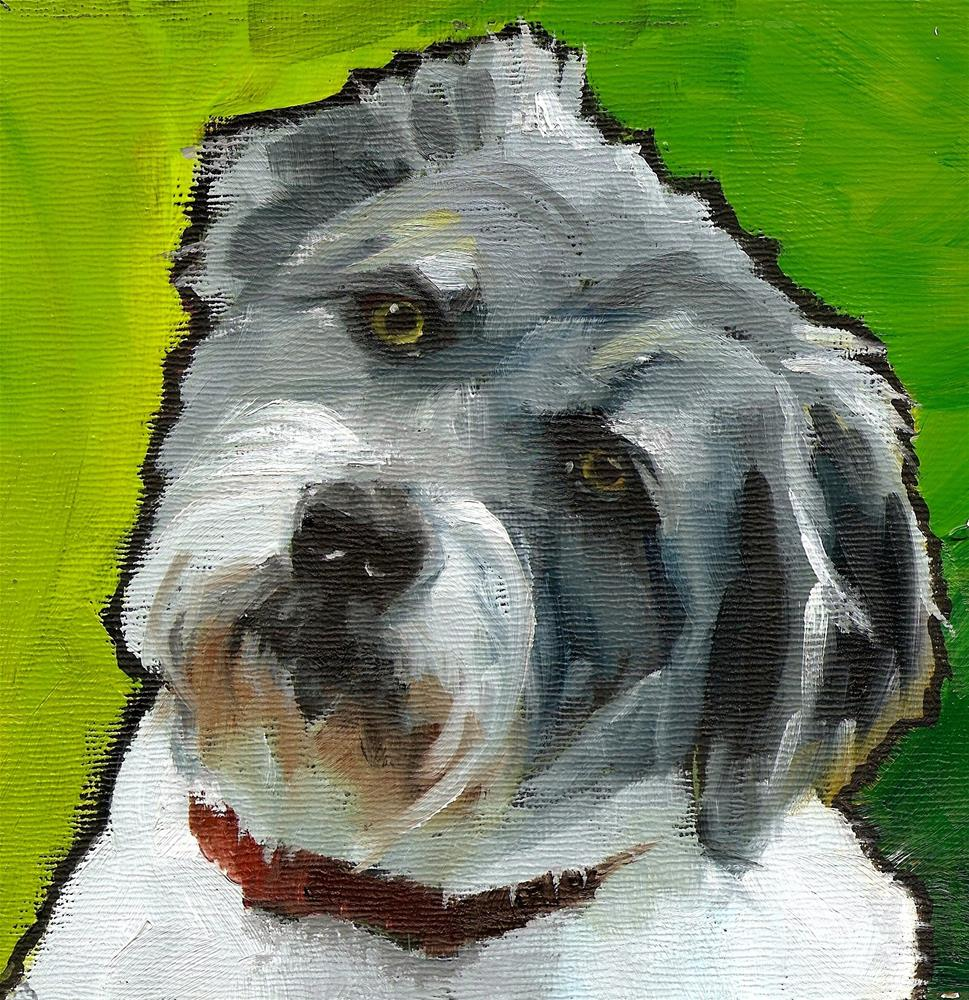 """Wally"" original fine art by Philla Barkhorn"