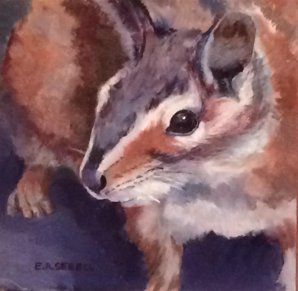 """Ya Got Food?"" original fine art by Elisabeth Seeger"
