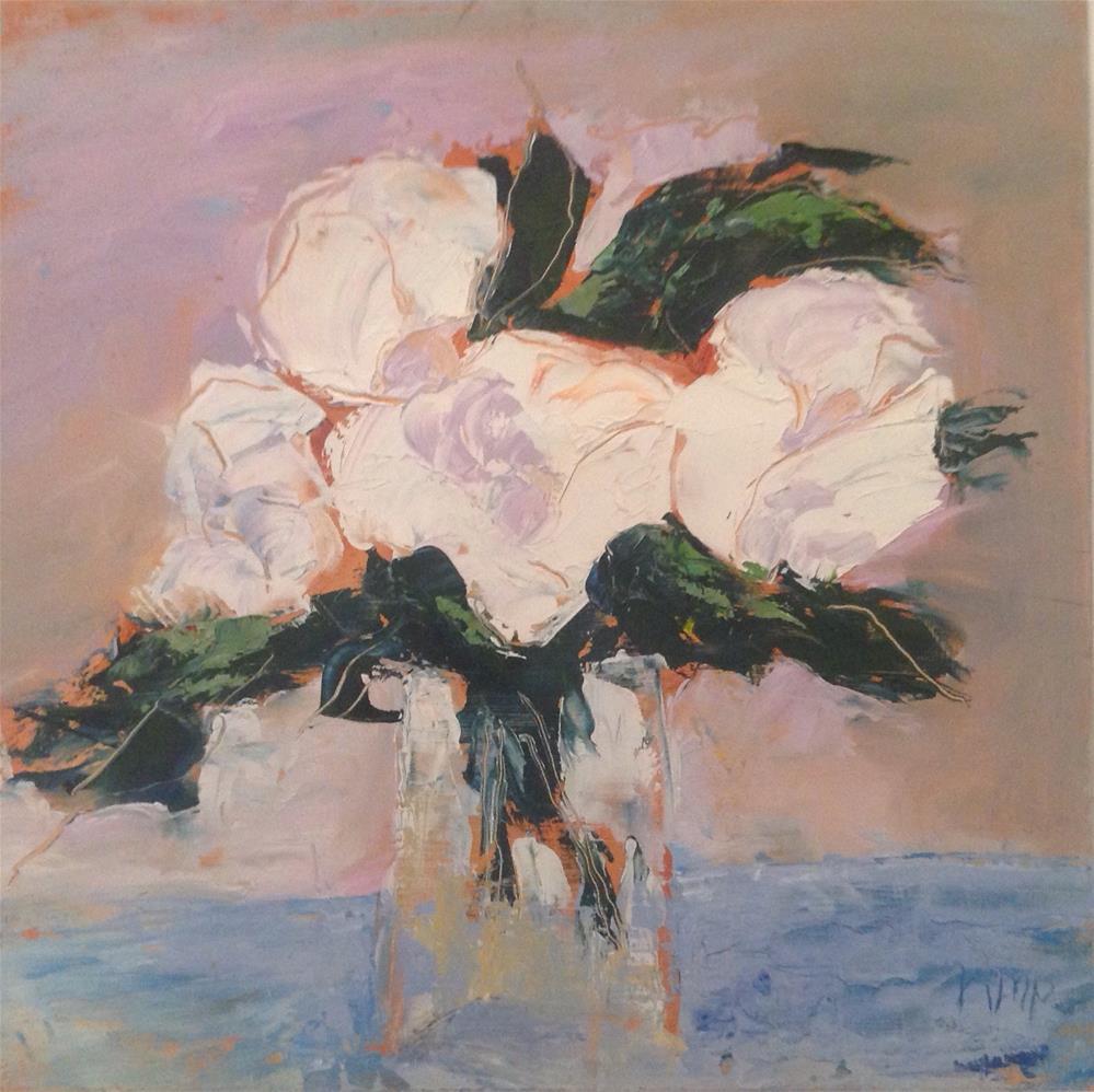 """""""White"""" original fine art by Karen Pinard"""
