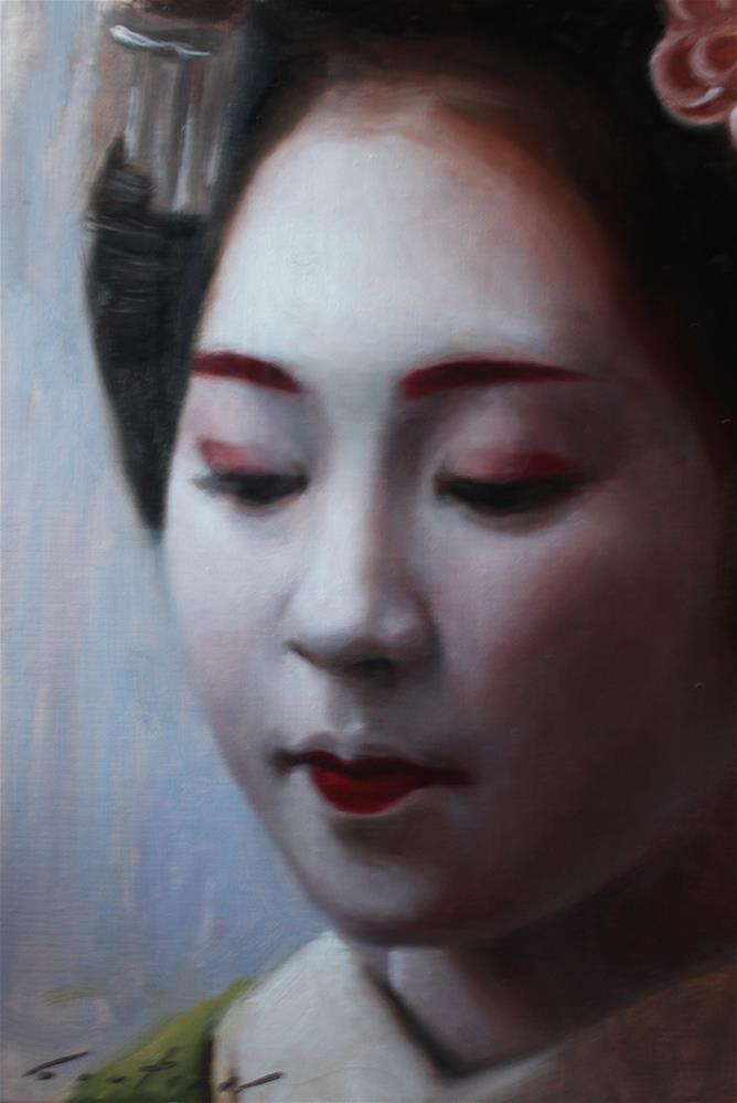 """Ichitomo"" original fine art by Phil Couture"