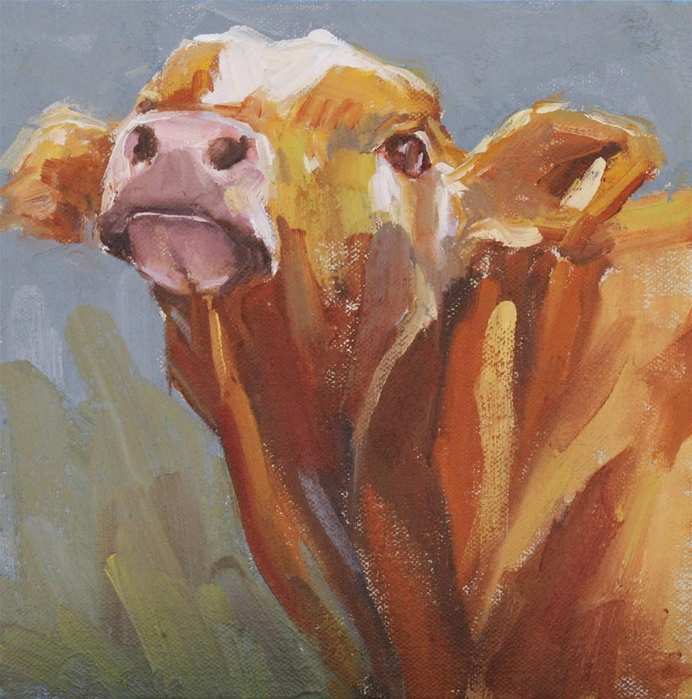 """vamoose"" original fine art by Carol Carmichael"