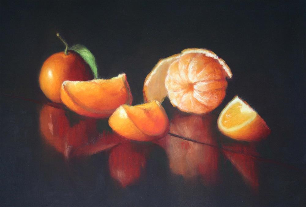 """Unfurled and sliced"" original fine art by Liz Balkwill"
