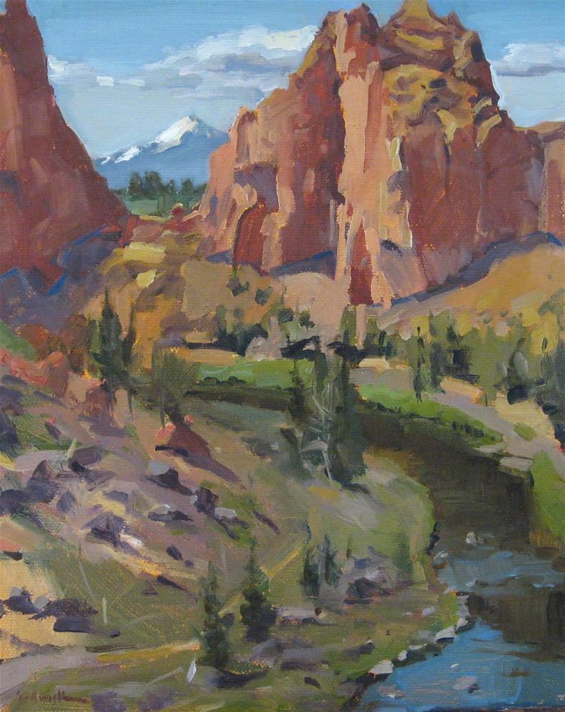 """Smith Rock Vista"" original fine art by Sarah Sedwick"