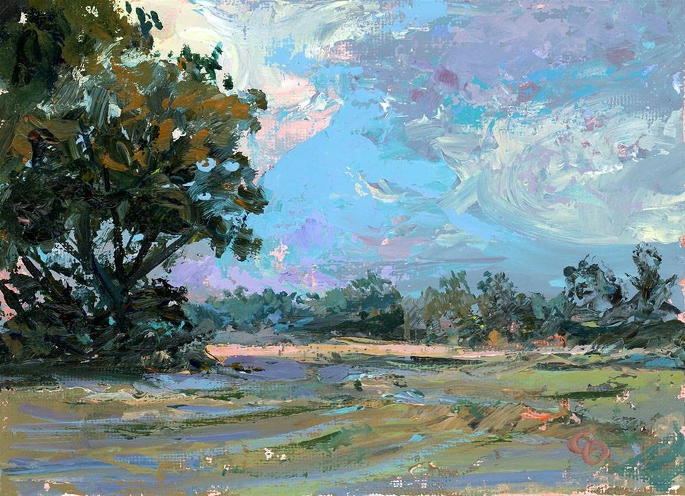 """Nearing Dusk"" original fine art by Chris Ousley"