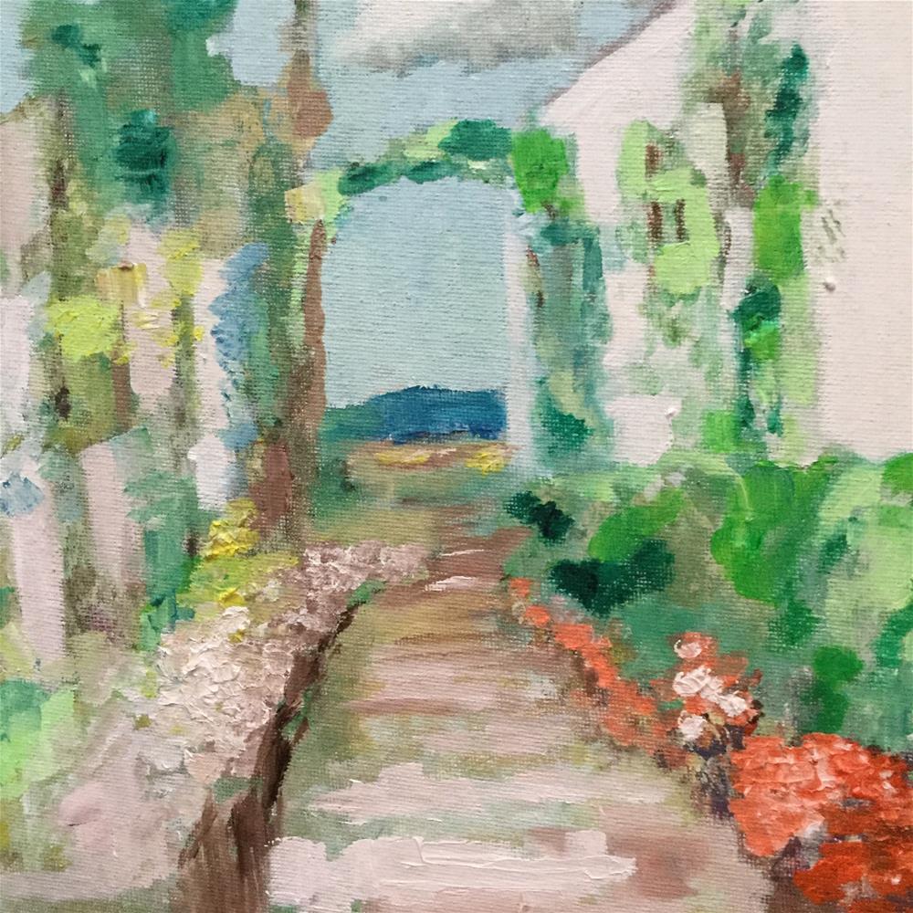 """Trip to Portugal"" original fine art by pamela kish"