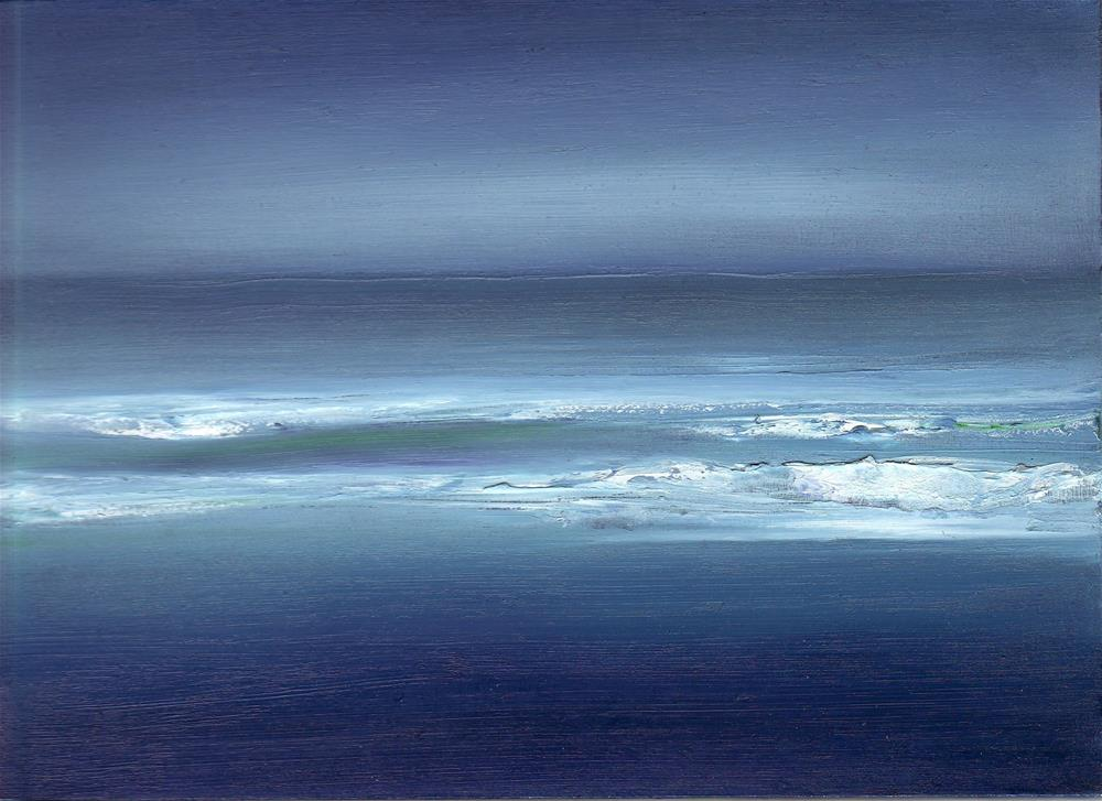 """Ocean Meditation #3"" original fine art by Anne Ducrot"