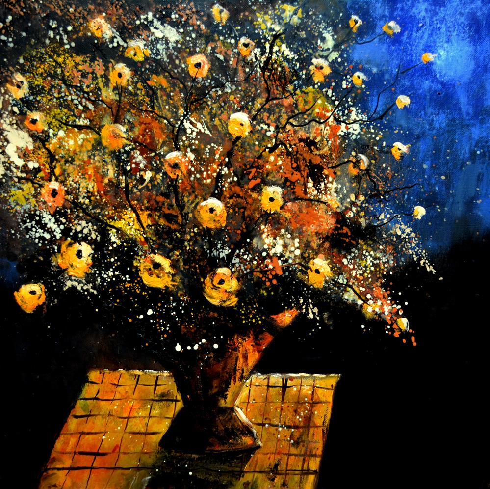 """Still life 556190"" original fine art by Pol Ledent"