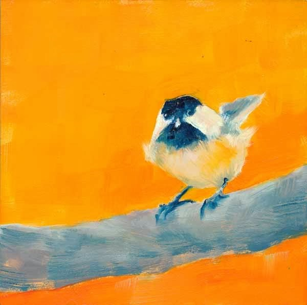 """You Chick"" original fine art by Brenda Ferguson"