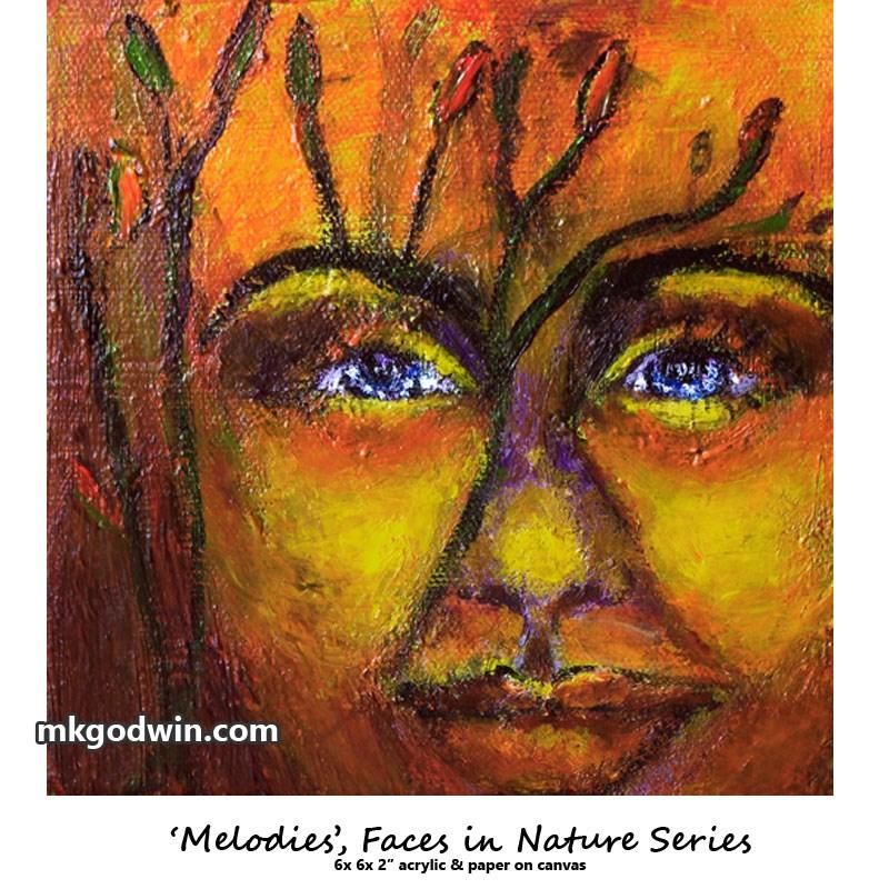 """""""Sensations"""" original fine art by Marie K Godwin"""