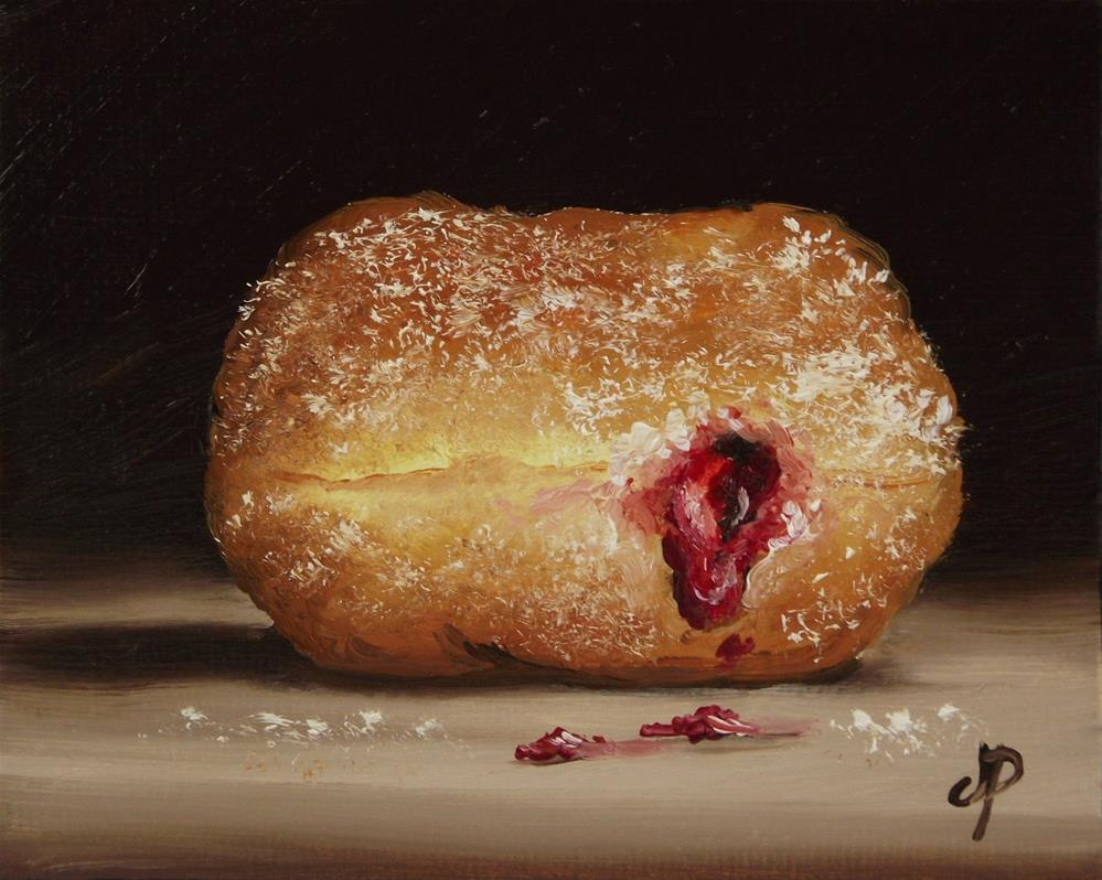 """Little Doughnut"" original fine art by Jane Palmer"