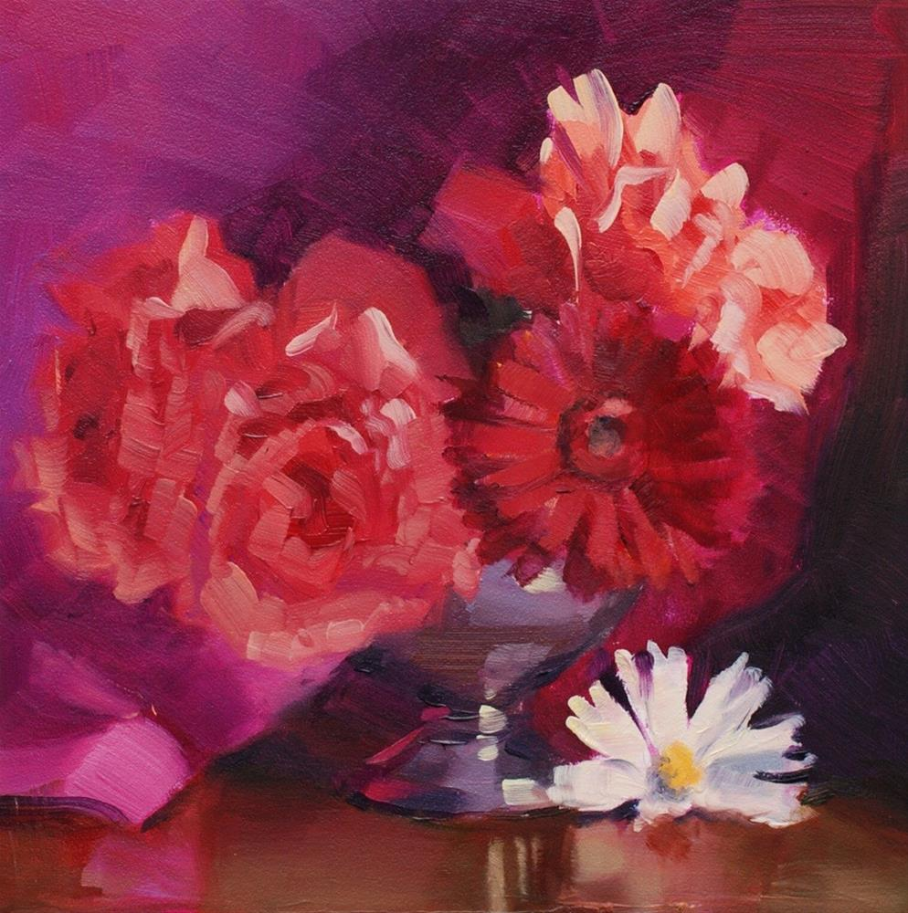 """No. 459 Flowers from the Garden"" original fine art by Susan McManamen"