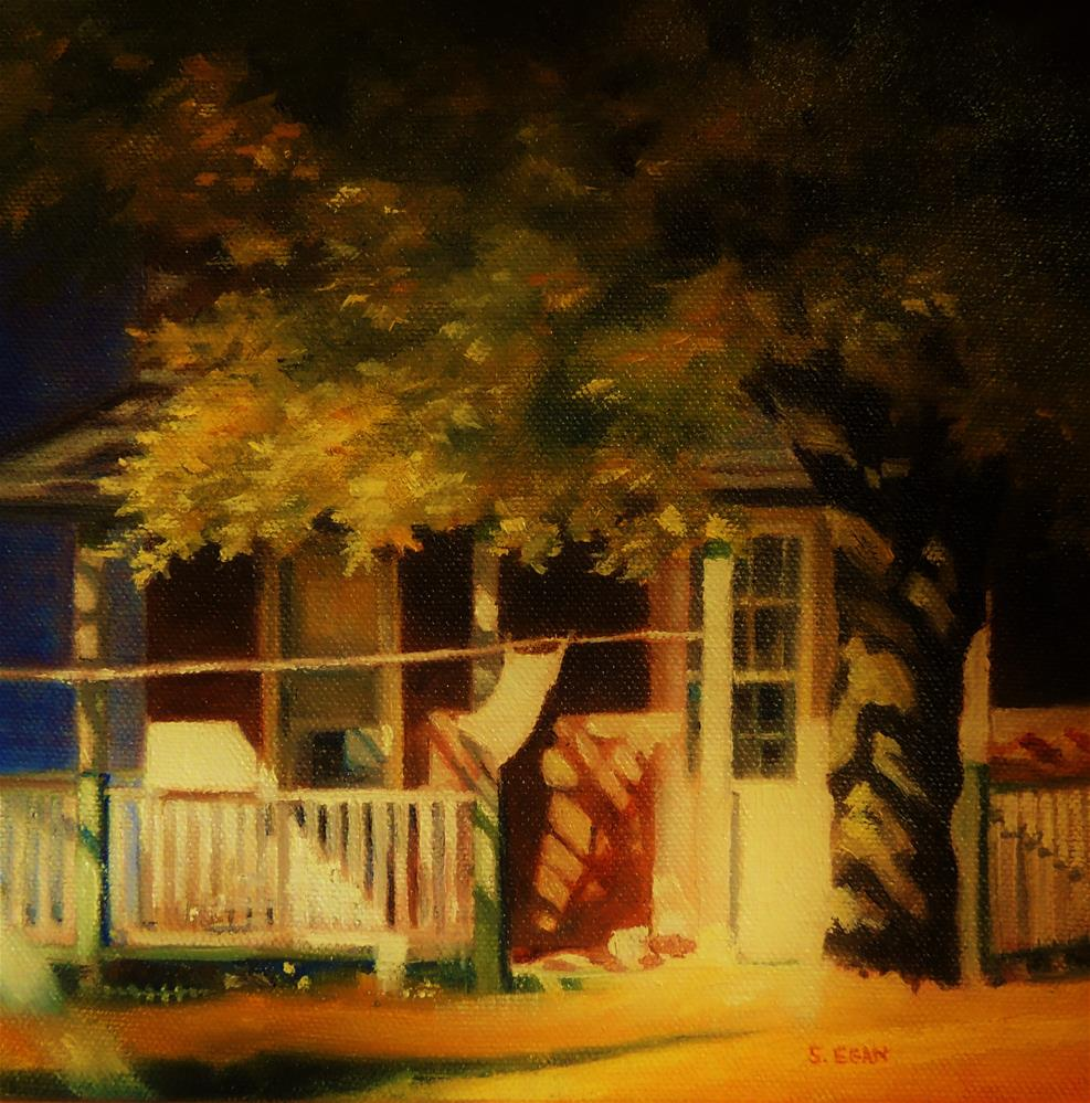 """Afternoon Shadows"" original fine art by Sharon Egan"