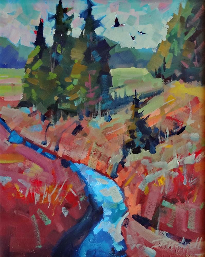 """Strathcona Autumn"" original fine art by Brian Buckrell"