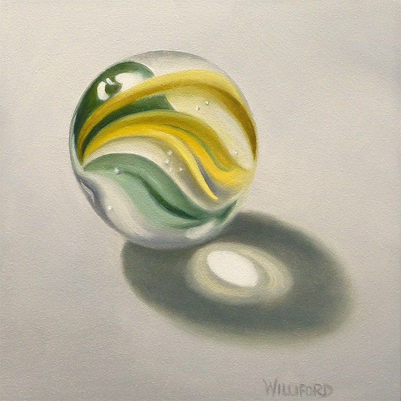 """Marble #1"" original fine art by Kathleen Williford"