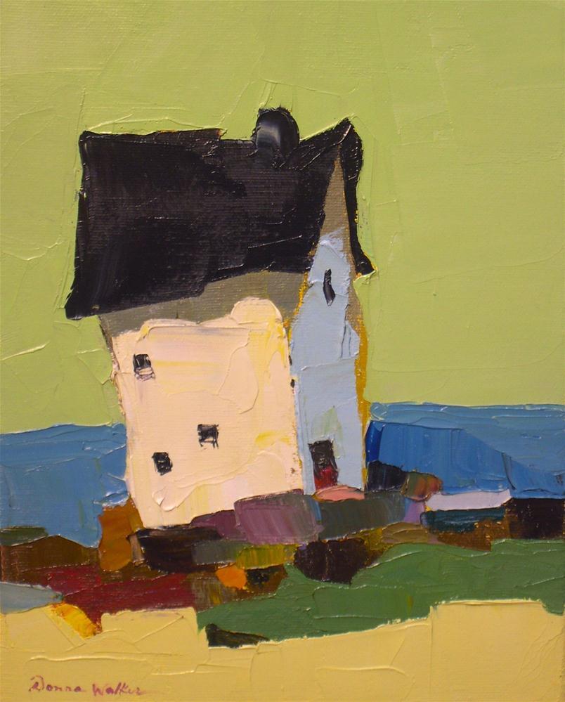"""As Calm as a Silent Sea"" original fine art by Donna Walker"