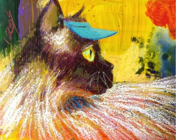 """Pretty and Poised"" original fine art by Jeff Leedy"