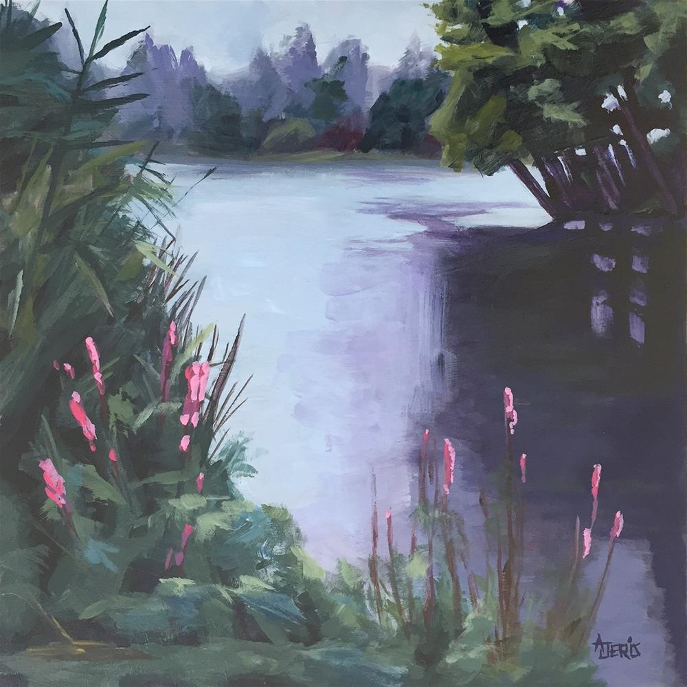 """Kew Gardens"" original fine art by Andrea Jeris"