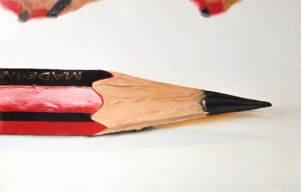 """Pencil"" original fine art by James Coates"