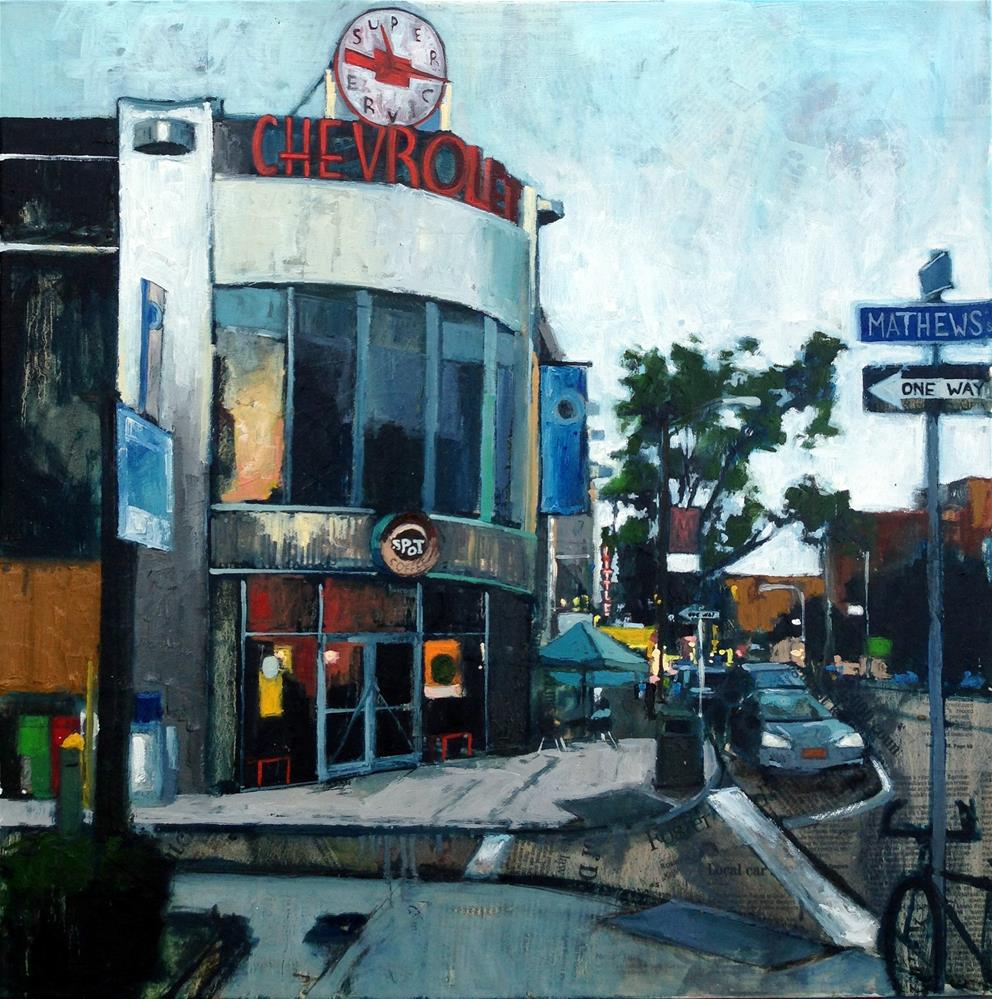 """Hallman's"" original fine art by Teresa Haag"