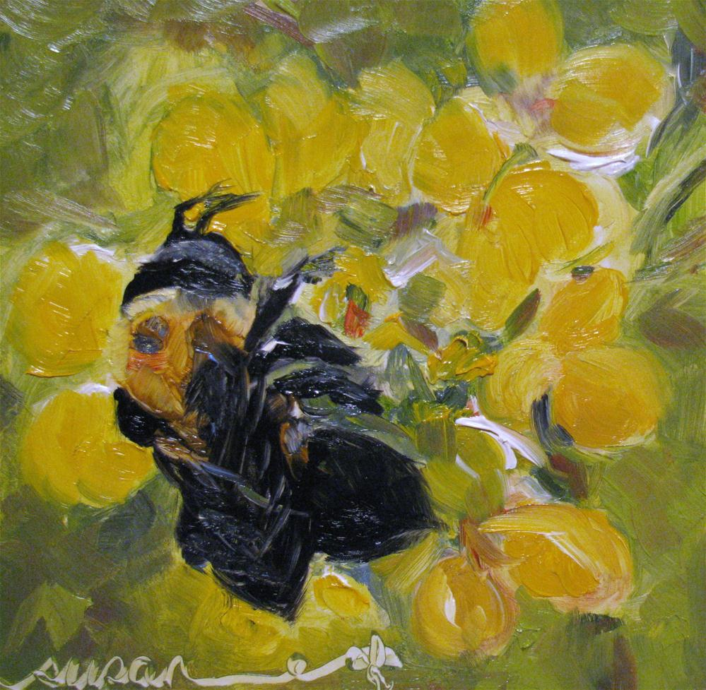 """Nectar"" original fine art by Susan Elizabeth Jones"