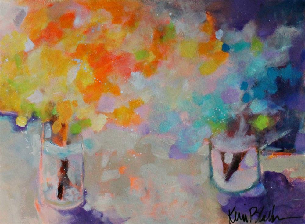 """""""Summer's First Bouquet """" original fine art by Kerri Blackman"""