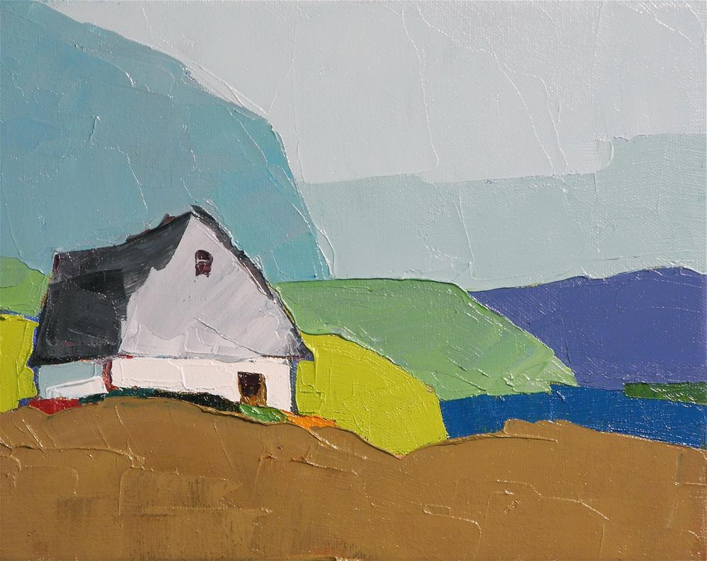 """Mountain Home"" original fine art by Donna Walker"