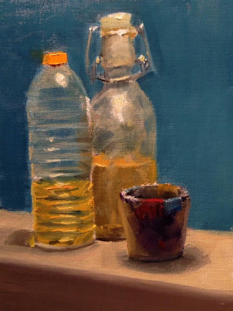 """Painting Utilities"" original fine art by Thomas Ruckstuhl"