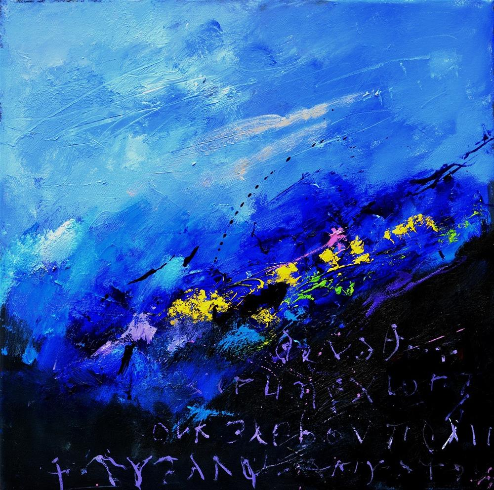 """abstract 6661102"" original fine art by Pol Ledent"