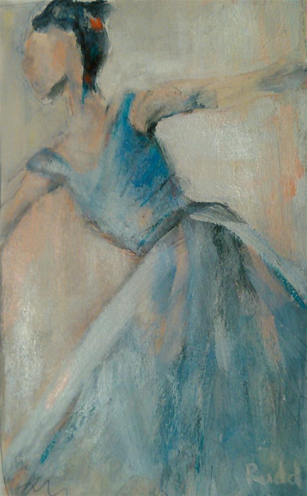 """Flow"" original fine art by Ann Rudd"