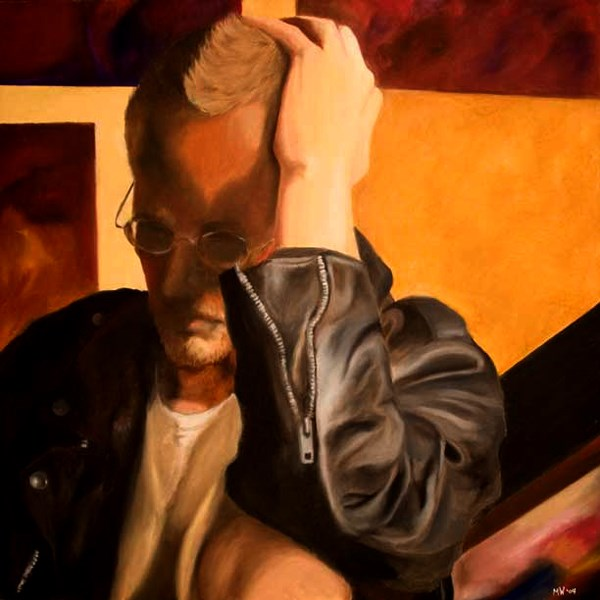 """Mark Webster - Focus - Portrait Oil Painting"" original fine art by Mark Webster"