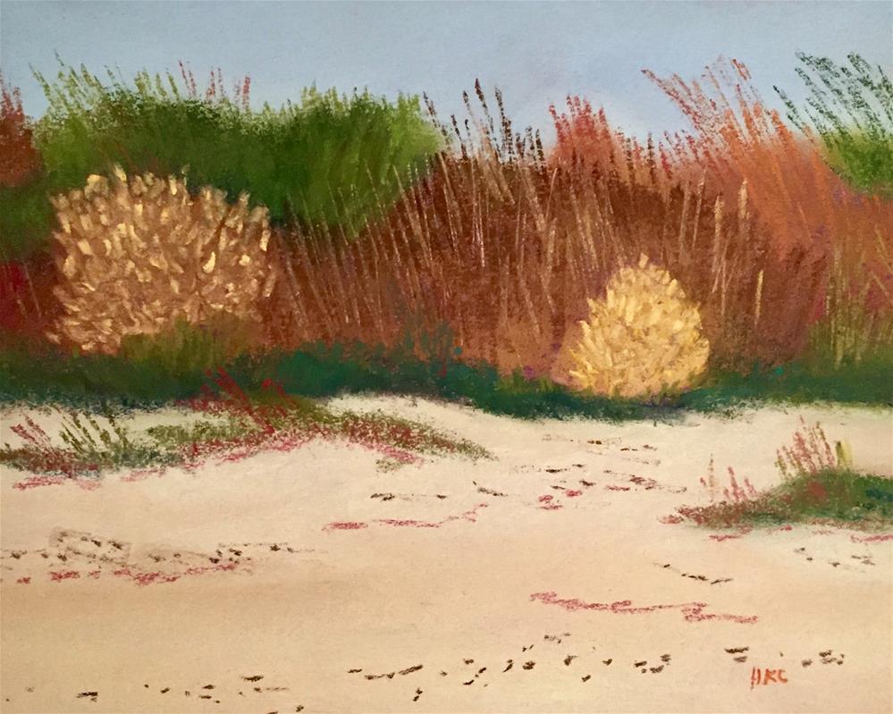 """Study of Sand Dunes # 6"" original fine art by Howard Clark"