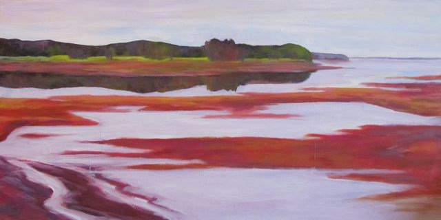 """At the End of a Perfect Nova Scotia Day"" original fine art by Patricia MacDonald"
