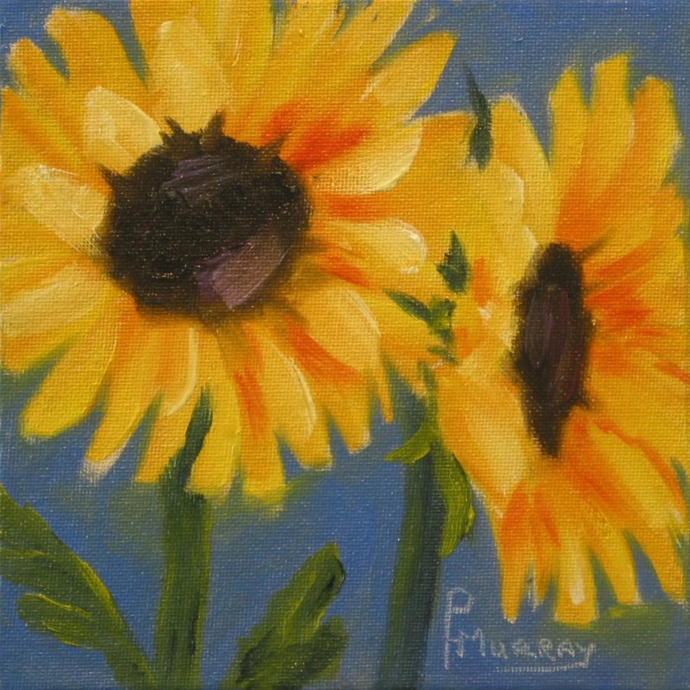 """Sunny"" original fine art by Patricia Murray"