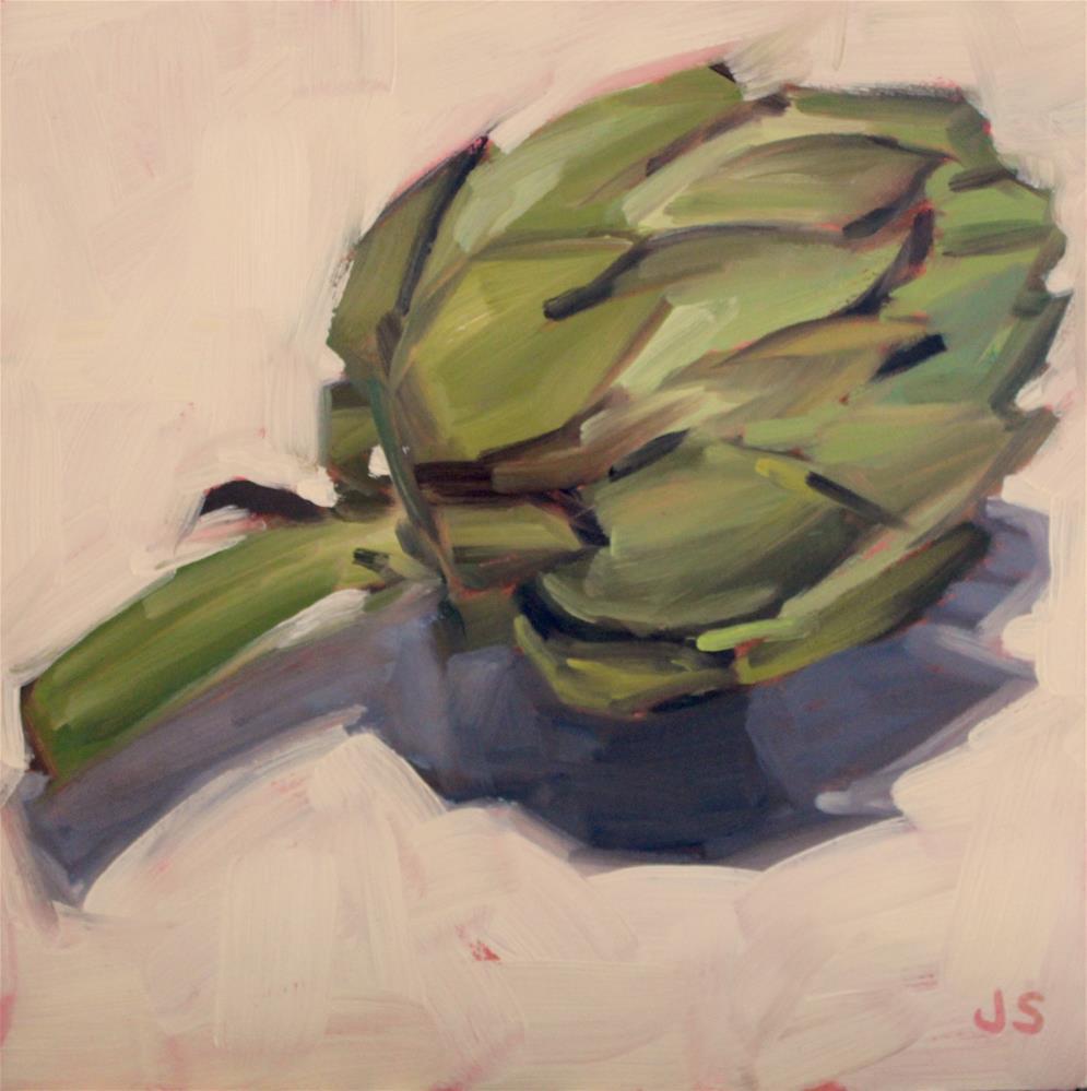 """""""Artichoke"""" original fine art by Jamie Stevens"""