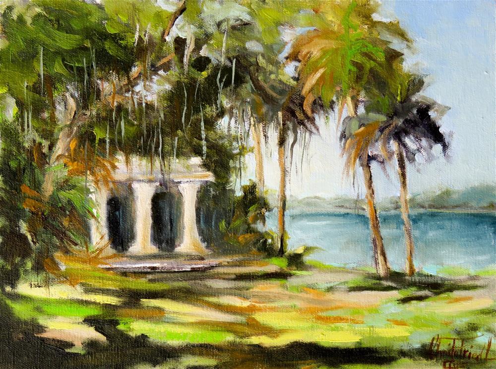 """Bay Preserve at Osprey, Florida"" original fine art by Christa Friedl"