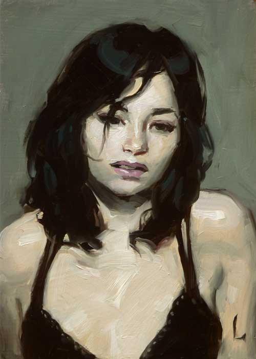 """Pallid"" original fine art by John Larriva"