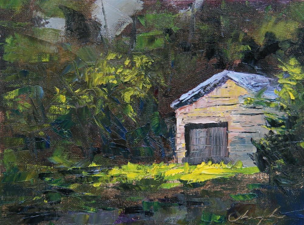 """""""Solitude"""" original fine art by Chuang Liu"""