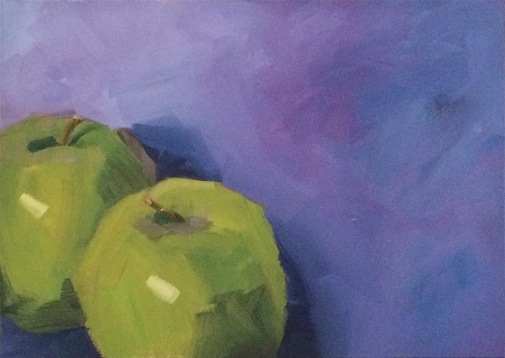 """Purple Haze"" original fine art by Philla Barkhorn"