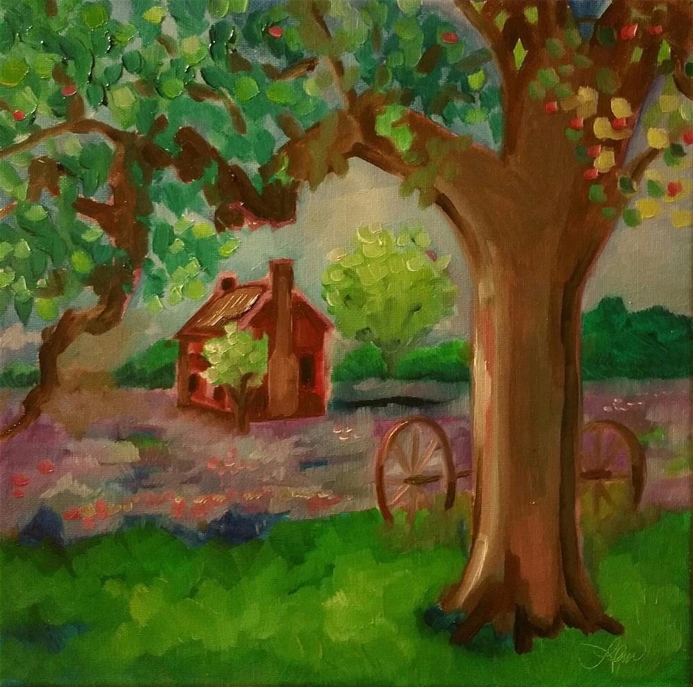 """Serenity"" original fine art by Leni Tarleton"