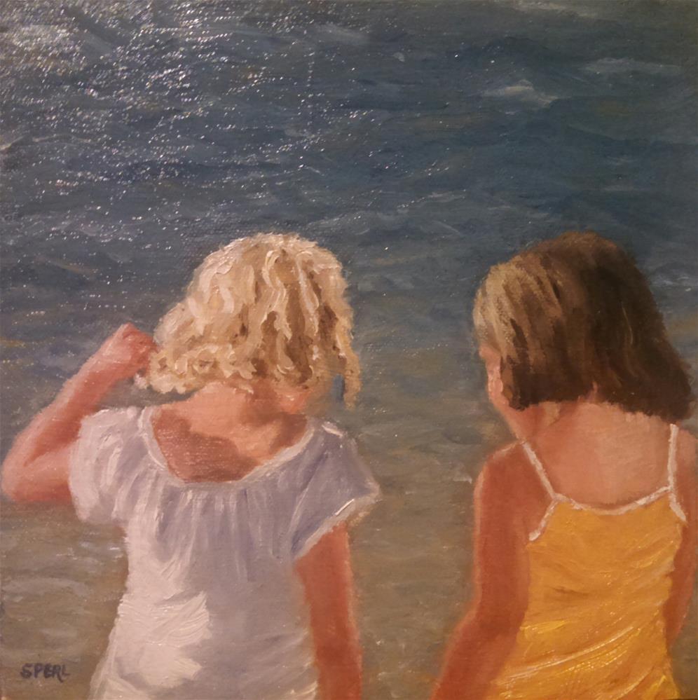 """Besties"" original fine art by Cheri Sperl"
