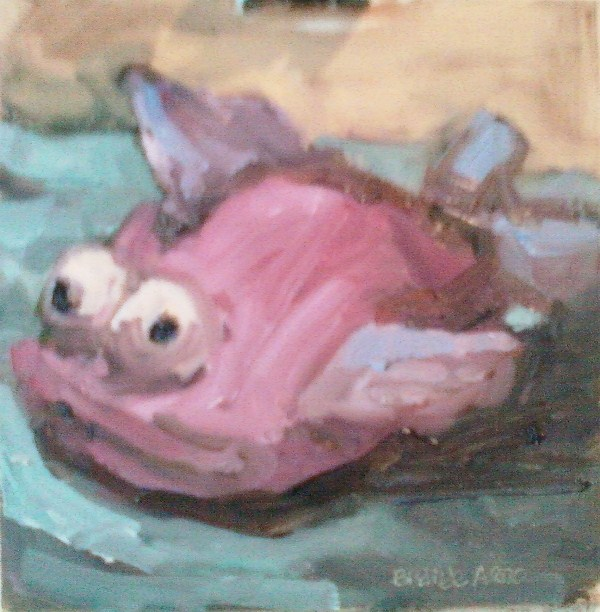 Corina's Spa Fish original fine art by Brande Arno
