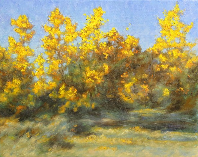 """Golden Bouquet"" original fine art by Carol Zirkle"