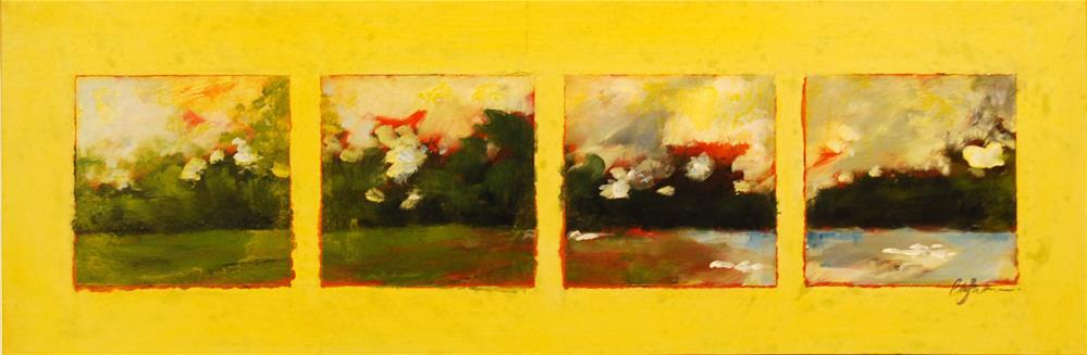 """""""LandscapeX4"""" original fine art by Cornelis vanSpronsen"""