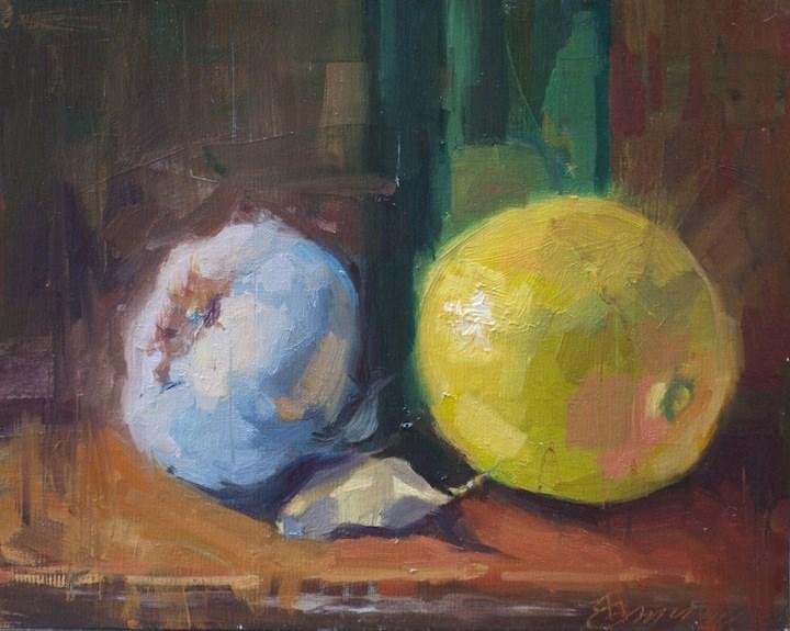 """""""Trinity"""" original fine art by Emiliya Lane"""