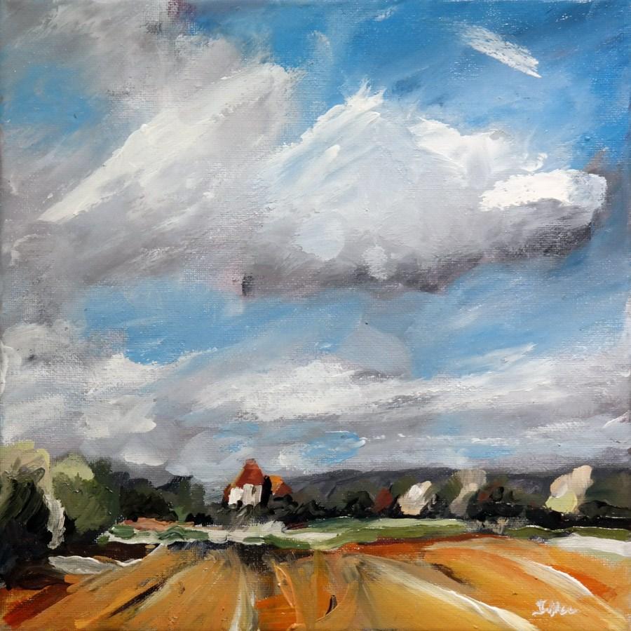 """""""1680 Ideal Landscape"""" original fine art by Dietmar Stiller"""