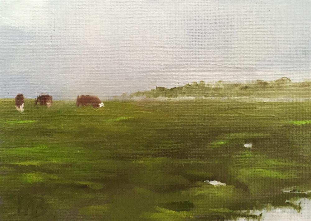 """More Rain Coming"" original fine art by Gary Bruton"